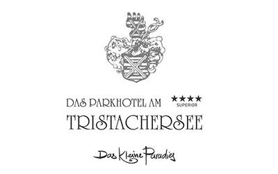 Das Parkhotel am Tristachersee, Logo